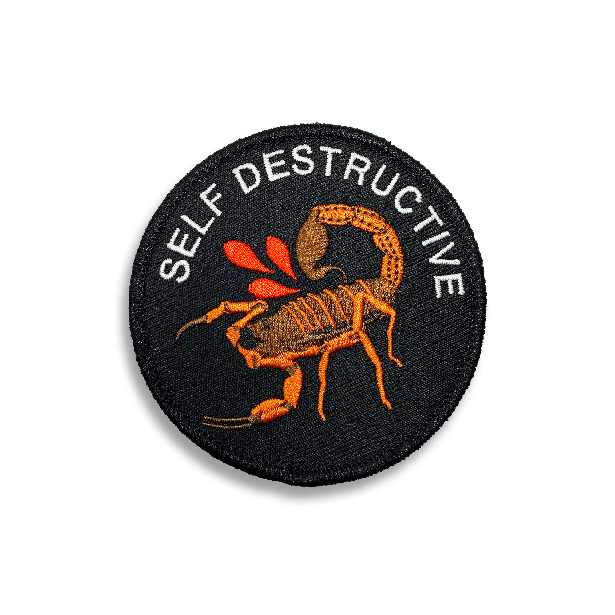 Patch - Self Destructive Scorpion at Bad Attitude Dept