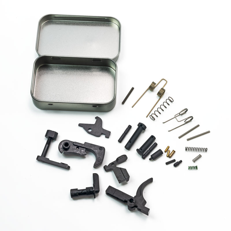 AR15 Lower Parts Kit - No Grip or Trigger Guard