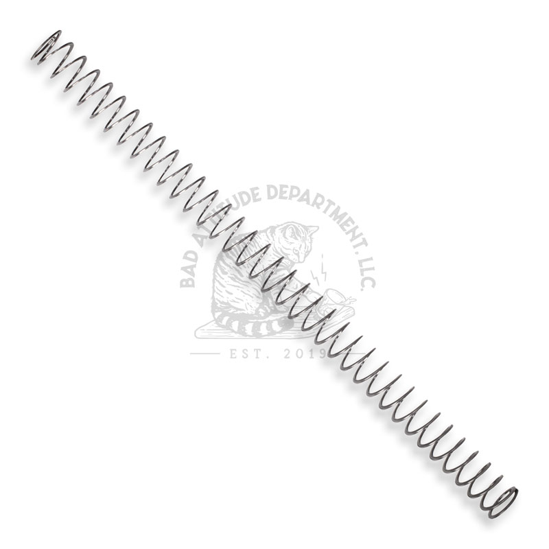 Flatwire AR15 Buffer Spring by Bad Attitude Department
