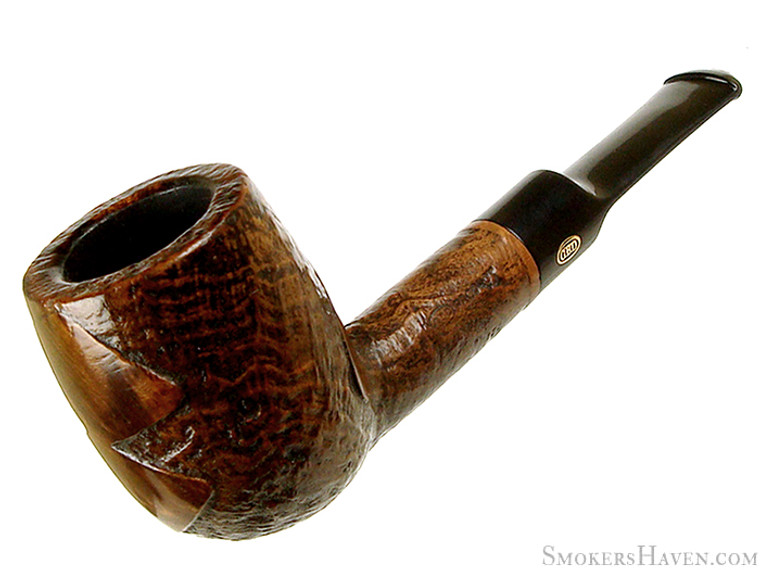 GBD Estate Pipe Tapestry 2515 Partially Smooth Billiard  (1970's)