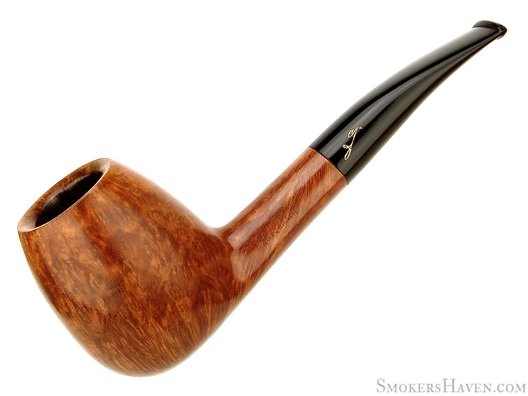 Savinelli Estate Pipe Autograph Grade 4 1/8 Bent Smooth Egg