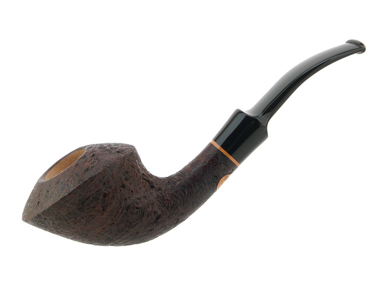 Scott's Pipes Pipe Handcrafted Brown Blast Fancy Dublin