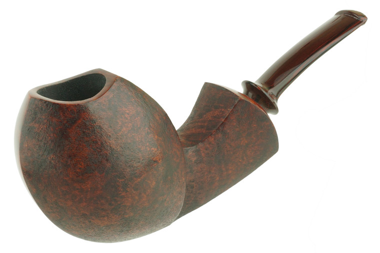 James Gilliam Pipe Partially Blasted Blowfish