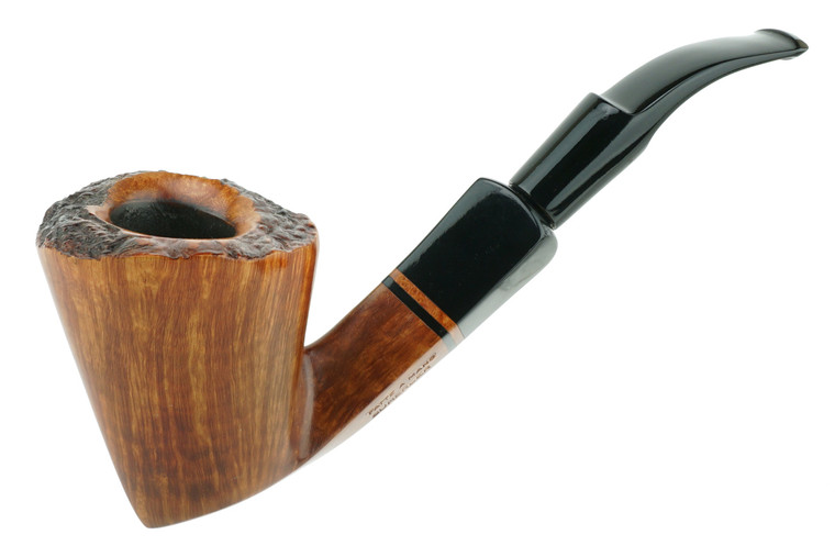 Italian Estate Pipe Sumerler Smooth Freehand w/ Plateaux