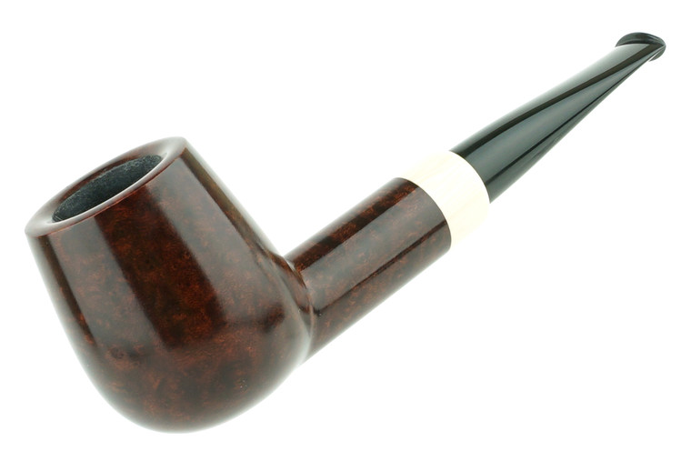 Luiz Lavos Pipe Smooth Billiard w/ Ivorite