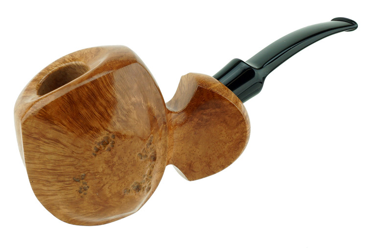 Buckeye Pipe Smooth w/ Carving  Chavel