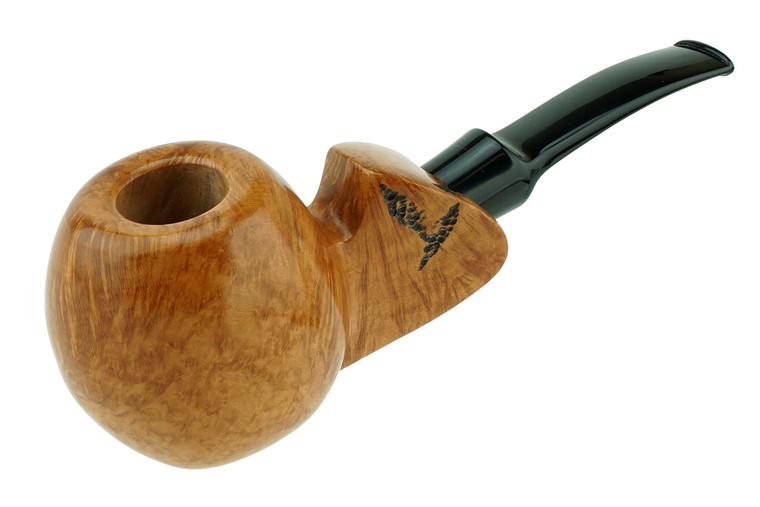 Buckeye Pipe Smooth w/ Carving Sidney