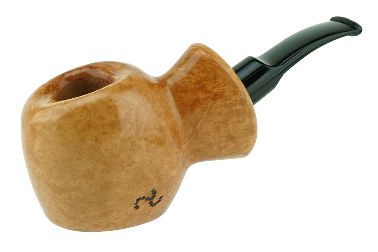 Buckeye Pipe Smooth w/ Carving Marblehead