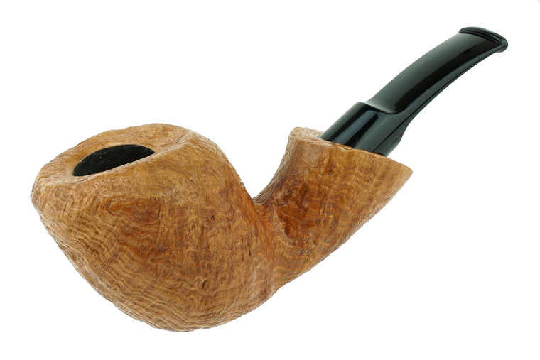 Buckeye Pipe Smooth w/ Carving Arthor