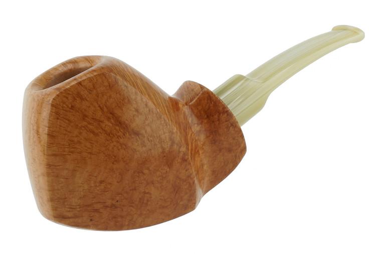Buckeye Pipe Smooth w/ Carving Puritan