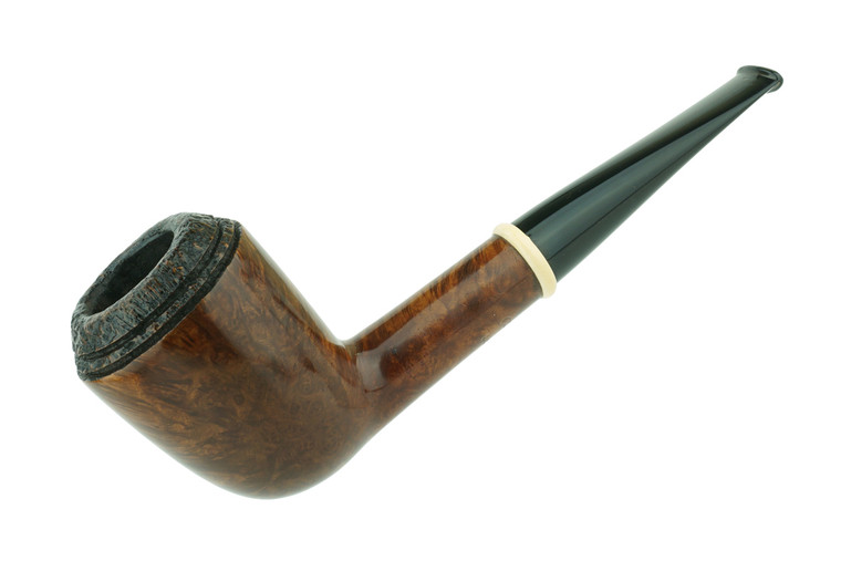 American Estate Pipe Chheda Rhodesian w/ Mammoth Ring