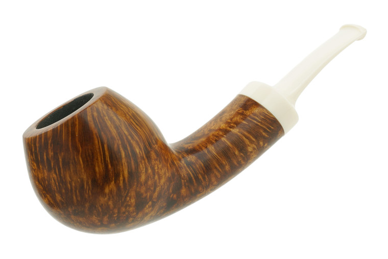 Matt Rousell Pipe Bent Danish Apple w/ Juma Stem