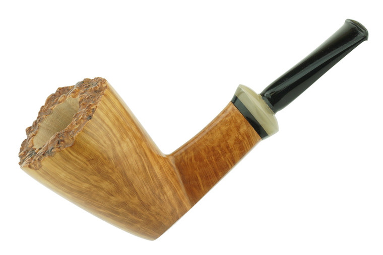 Gheppo Pipe Smooth Dublin w/ Plateaux