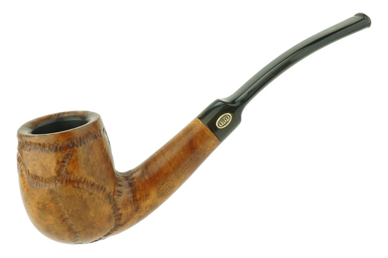 Misc. Estate Pipe GBD Sauvage Bent Billiard w/ Carving