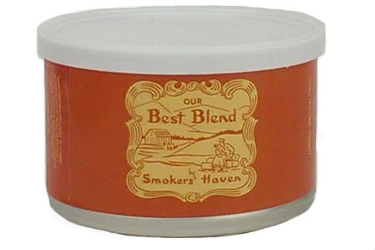 Smokers' Haven Our Best Blend 2oz Tin
