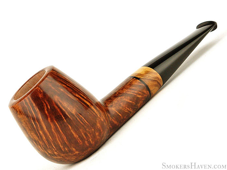 Miscellaneous Estate Pipe Pavel Gorbunov Pipe Egg w/ Olive Wood Unsmoked