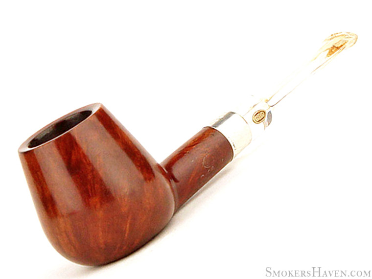GBD Estate Pipe Conquest New Standard 9518 Smooth Brandy w/ Silver (1950's to 1960's)