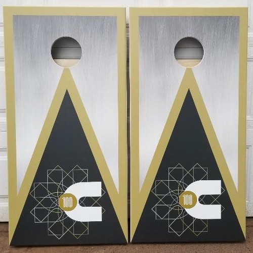 Your Business Design #2, custom with your business logo- Regulation size cornhole boards.