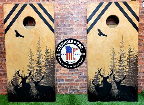 Deer / Hunting- Regulation size cornhole boards.
