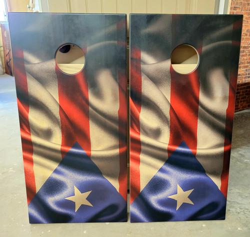 State Flag Cornhole Boards  -Regulation size cornhole boards.