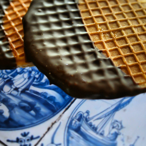 Chocolate dipped Stroopwafels
