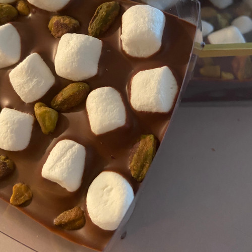 Nutty s'mores bark box