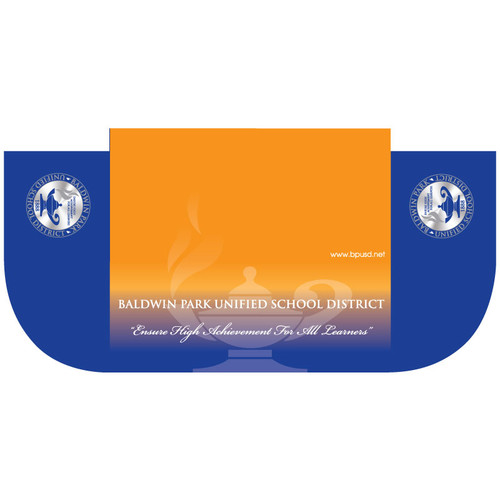 sc 1 st  ARTalks Display & 6ft Table Cover with Logo 3-Sided (open back)