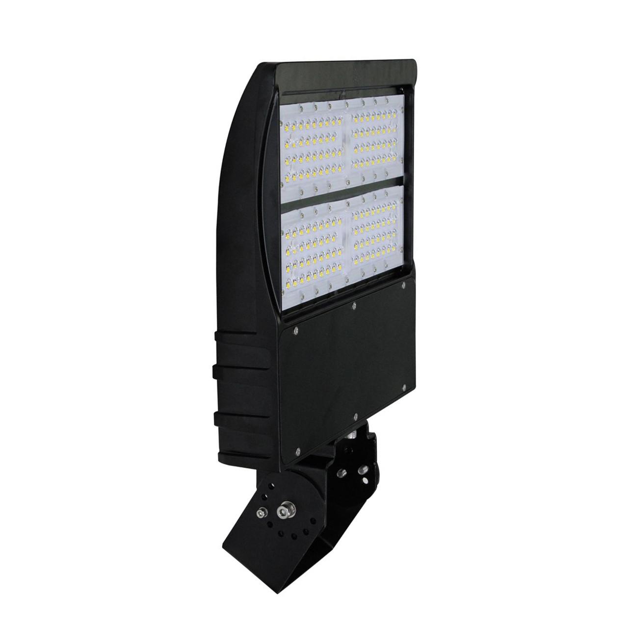 150W LED Shoebox Light - 400W-600W HPS/MH Equivalent - Yoke - Gen 2