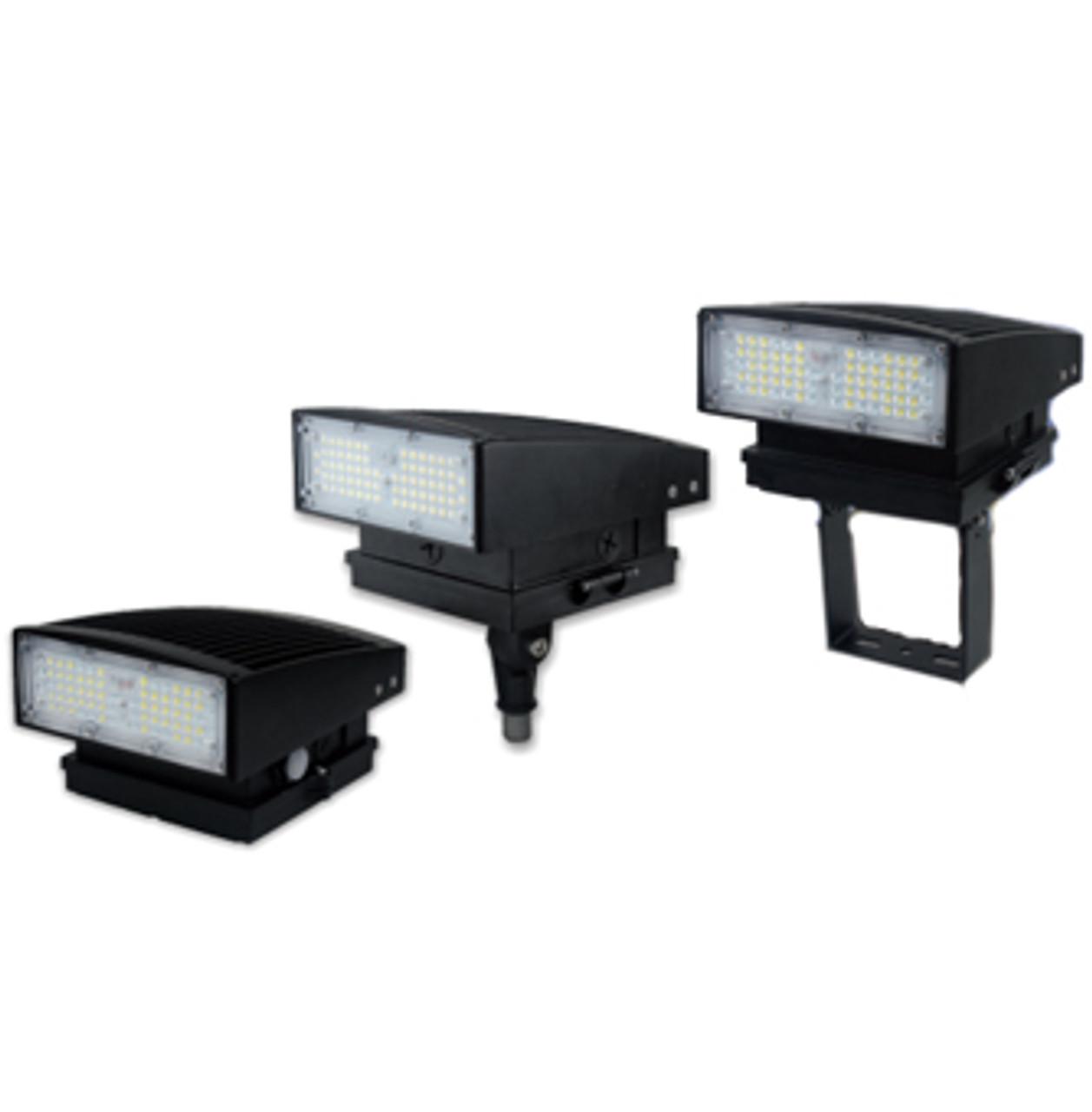 LED Wall Pack 55 Watt - 200W HPS/MH Equivalent
