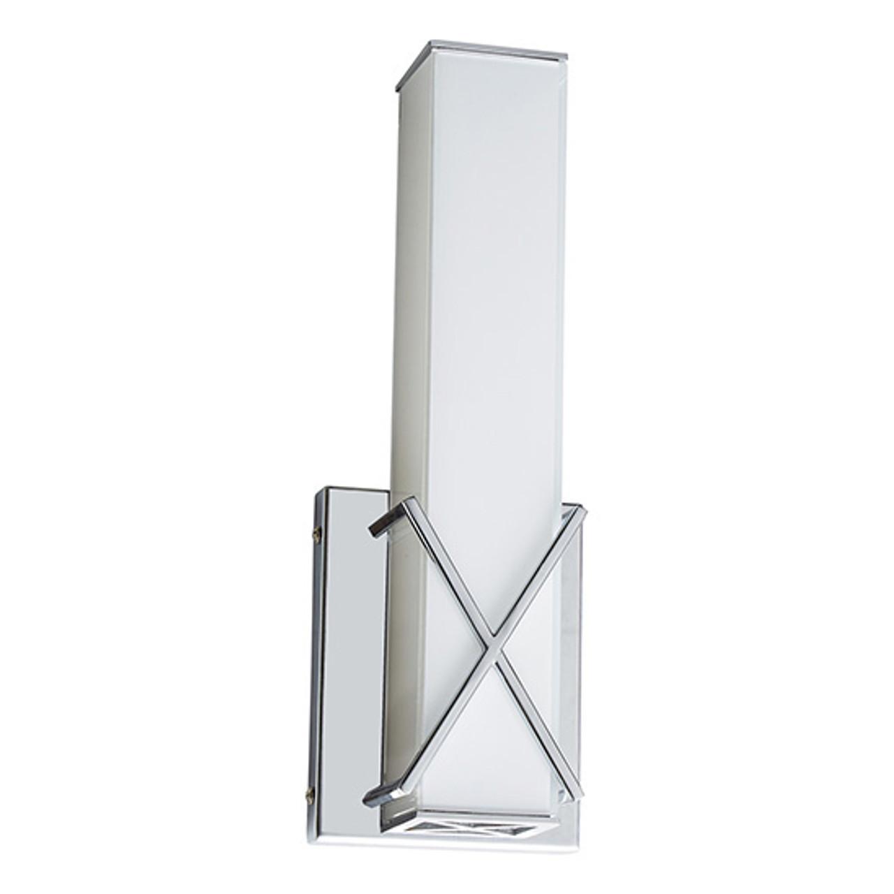 Chrome Vanity Light, WS412 – 14W - 3000K