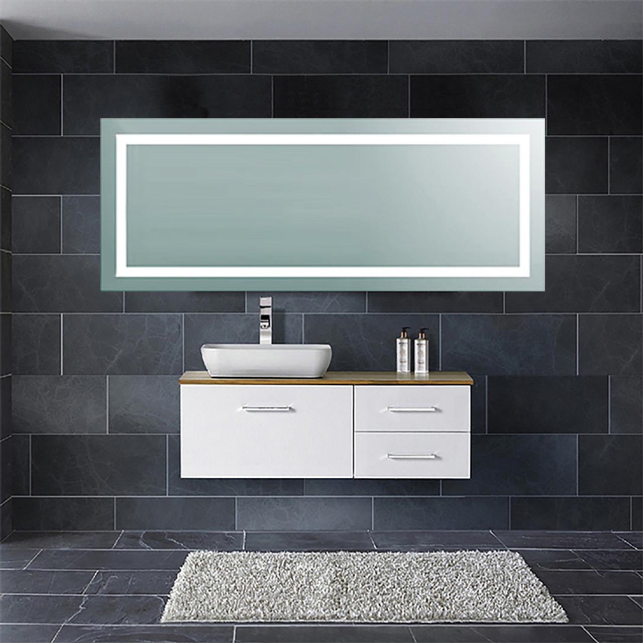 LED Backlit Mirror Light 24x60in. – 80W