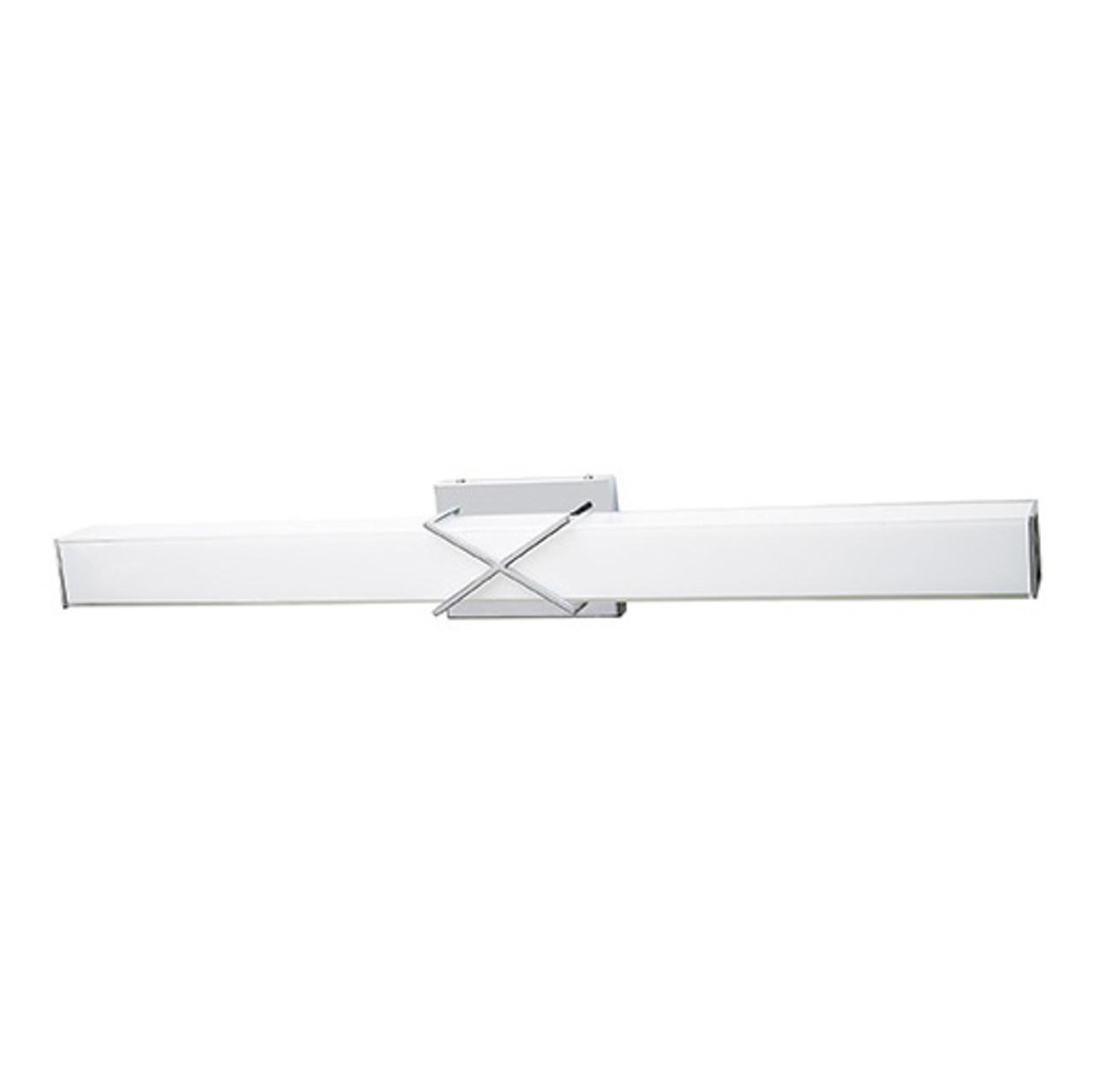 Chrome Vanity Light, V432 – 32W - 3000K