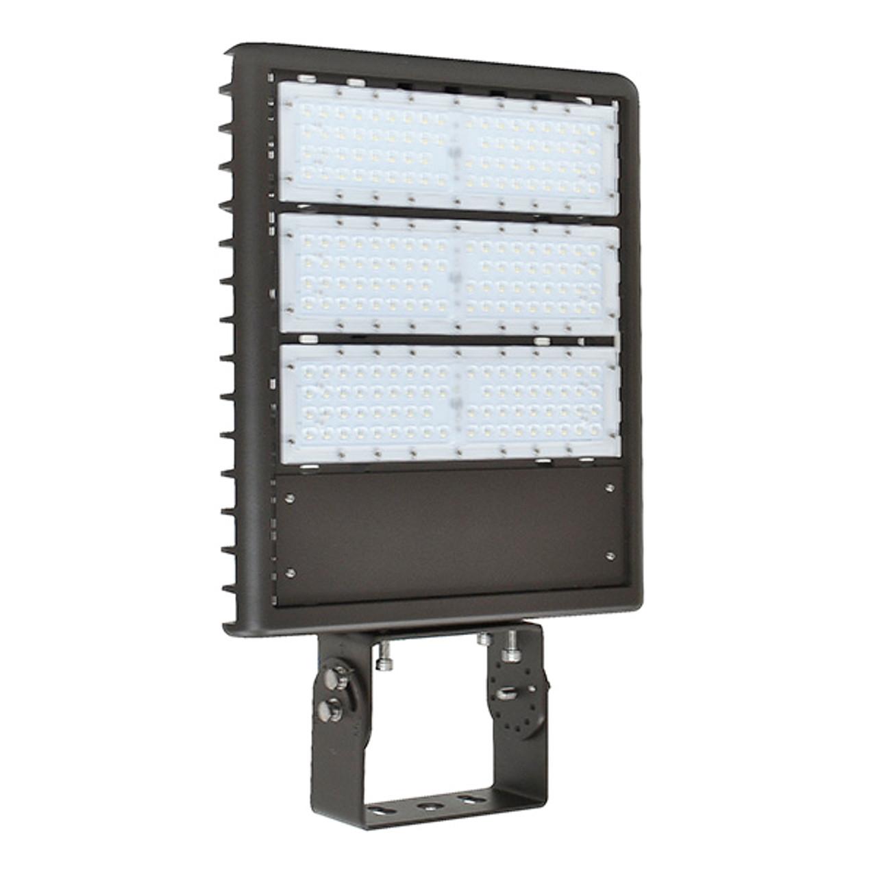 185W LED Shoebox Light  - 600W HPS/MH Equivalent - Gen 3