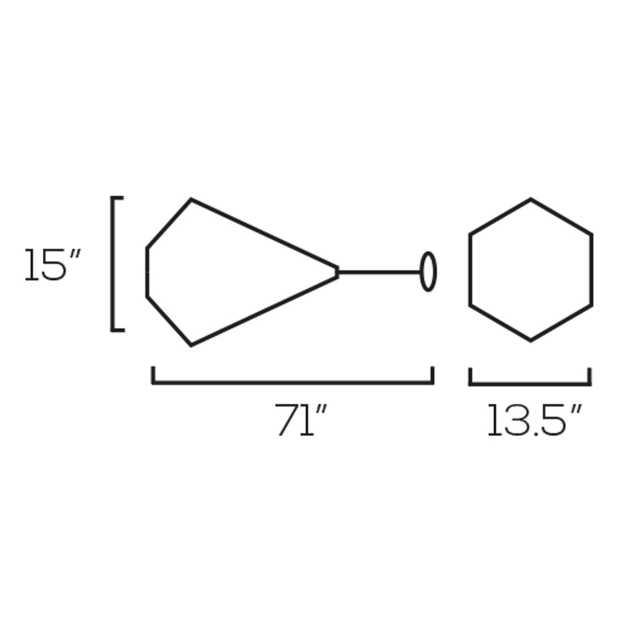 Pendant, PDL064 - E26