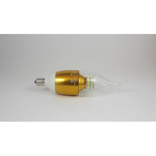 LED Candelabra Bulb, 6 Watt, 580 Lumens, 6500K