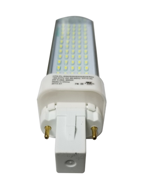 LED Pin Light G23, 6 Watt, 588 Lumens, 6500K