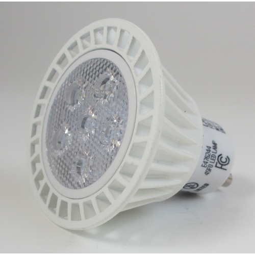 MR16 GU10 LED Bulb, 7 Watt, 550 Lumens, 6500K