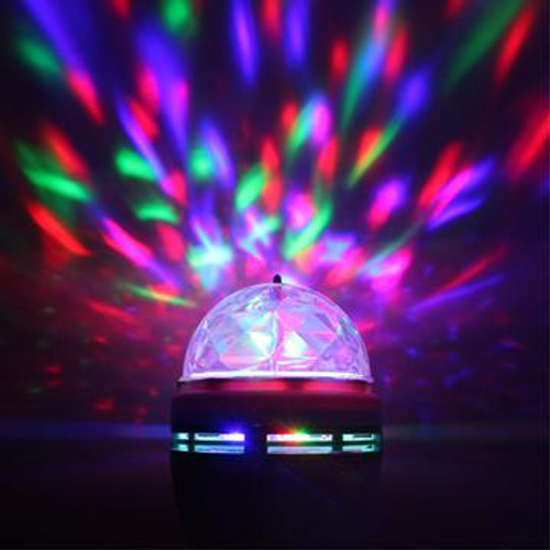 LED RGB Bulb Disco Magic Ball - 150 Lumens
