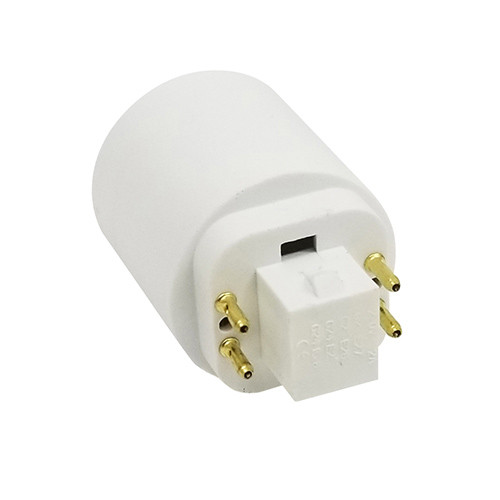 G24 4 Pin to E26 Adapter