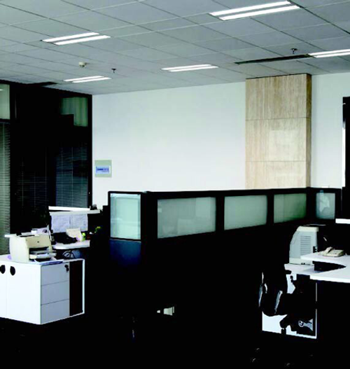 LED 2' by 4' Troffer, perfect for offices and schools