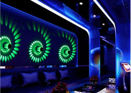 LED Wall Light 750 - 3W - RGB