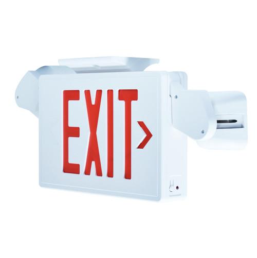 LED Exit Light with Emergency Lights, EX7027RL – 4W
