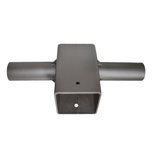 "Mount - Square to Round Pole - 2 Head for 4"" Square Pole"