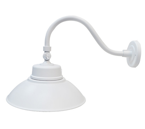 LED Gooseneck Lamp White - 5000K - 42W
