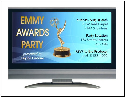 Emmy Awards Party Invitation