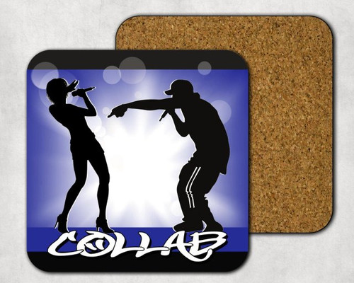 Collab Drink Coaster, Music Theme