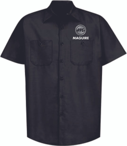 Maguire Industrial Short Sleeve Work Shirt