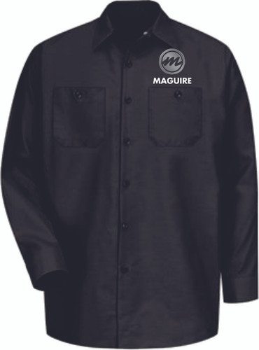 Maguire Industrial Long Sleeve Work Shirt