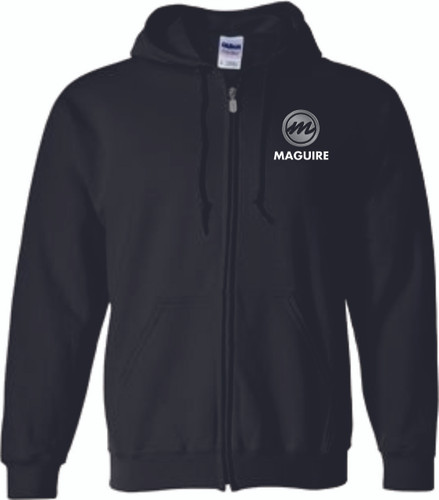 Maguire Heavy Blend Full-Zip Hooded Sweatshirt