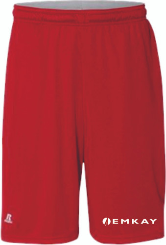 """EMKAY 10"""" Essential Shorts with Pockets - Assorted Colors"""